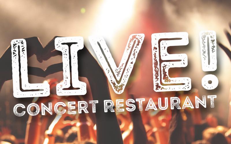 LIVE! Concert Restaurant - krogshow Göteborg