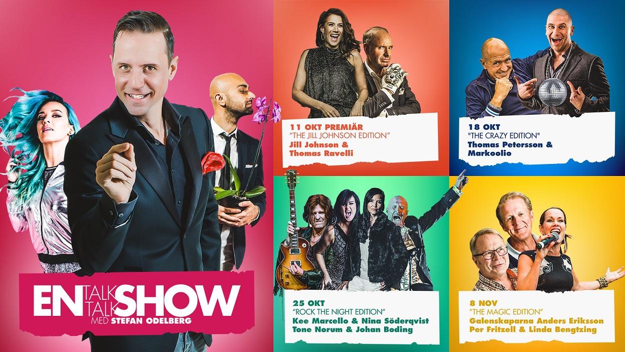 En Talk Talk Show med Stefan Odelberg - krogshow Göteborg